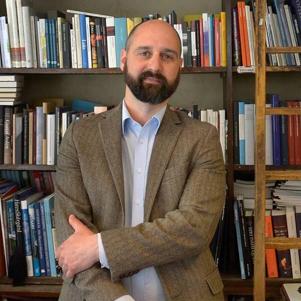Calle Nathanson, ordförande i Svensk biblioteksförening.