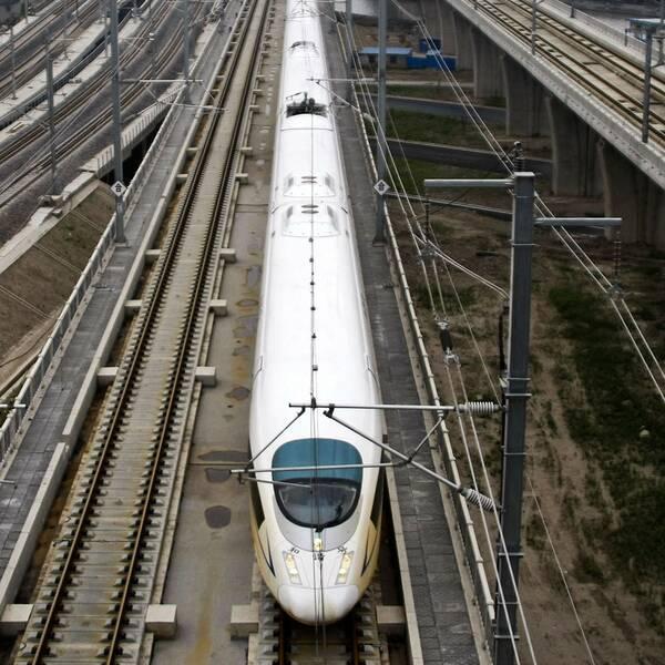 Höghastighetståg i Kina