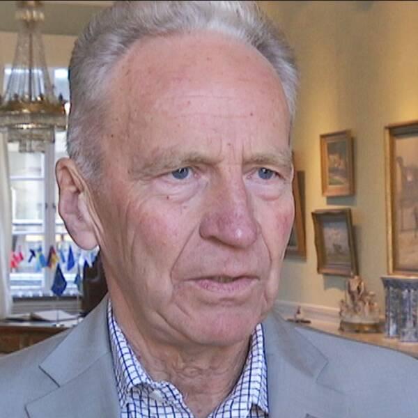 Lennart Prytz är ordförande i kommunfullmäkige