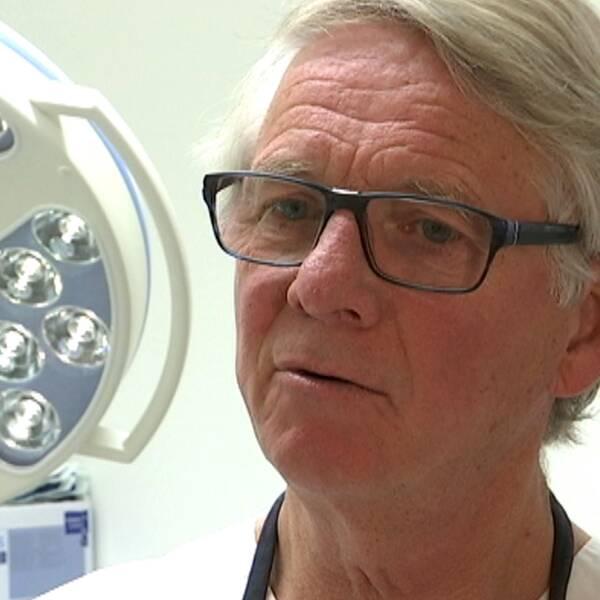 Stefan Renvert, övertandläkare och professor i oral hälsovetenskap på högskolan i Kristianstad.