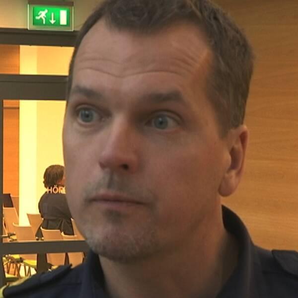 Mats Karlsson, kommenderingschef.
