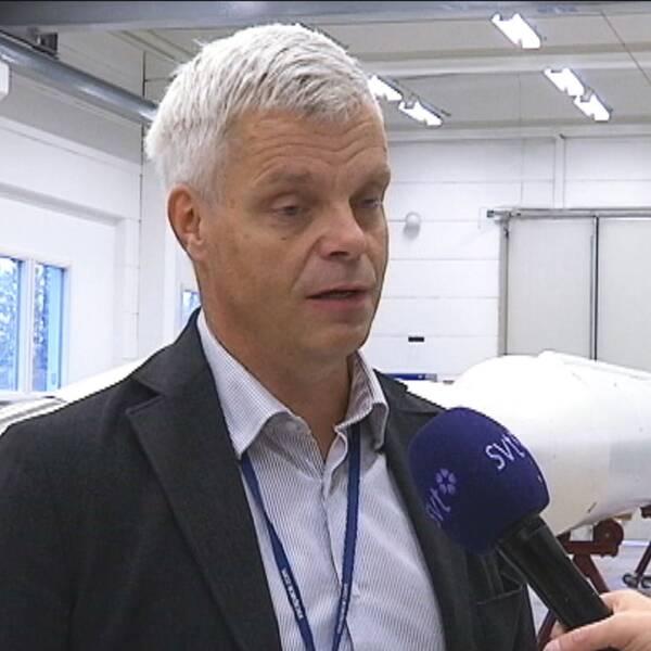 Lennart Poromaa, platschef Esrange Kiruna