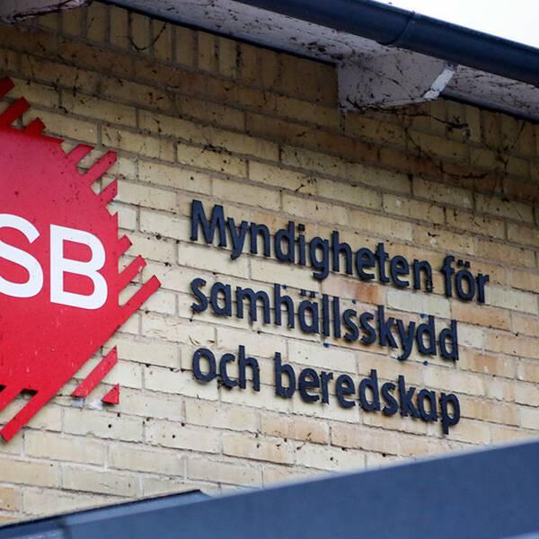 Myndigheten för Samhällsskydd och Beredskap (MSB).