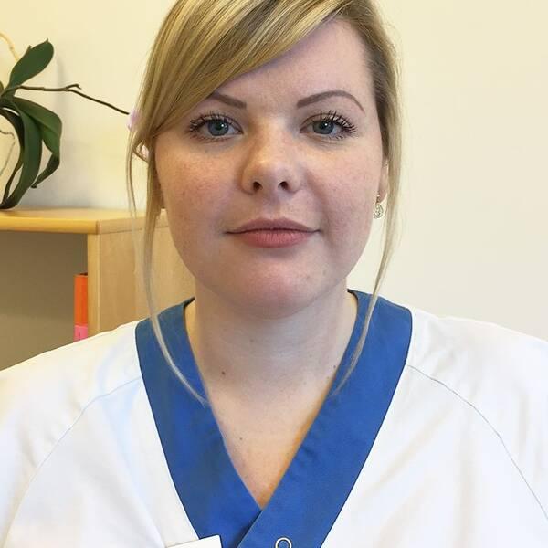 Lina Karlsson är sjuksköterskor på Cosmo i Uppsala.
