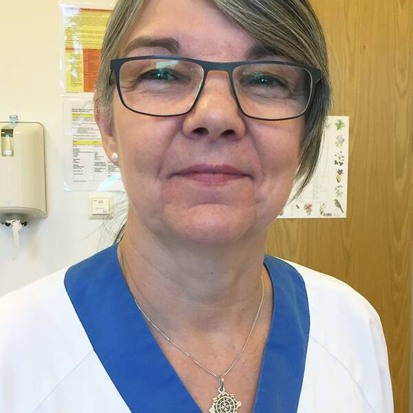 Eleonor Arén är sjuksköterskor på Cosmo i Uppsala.