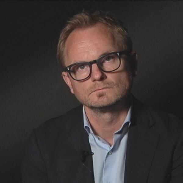 SVT:s programchef Mikael Österby.