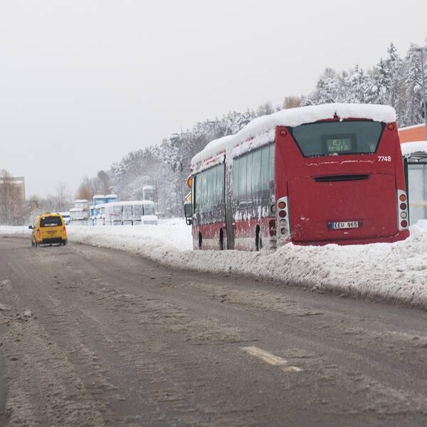 Sl-kort, inställd buss.