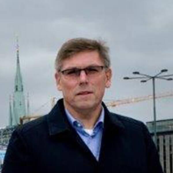 Jan Sjölund, säkerhetschef på SJ.