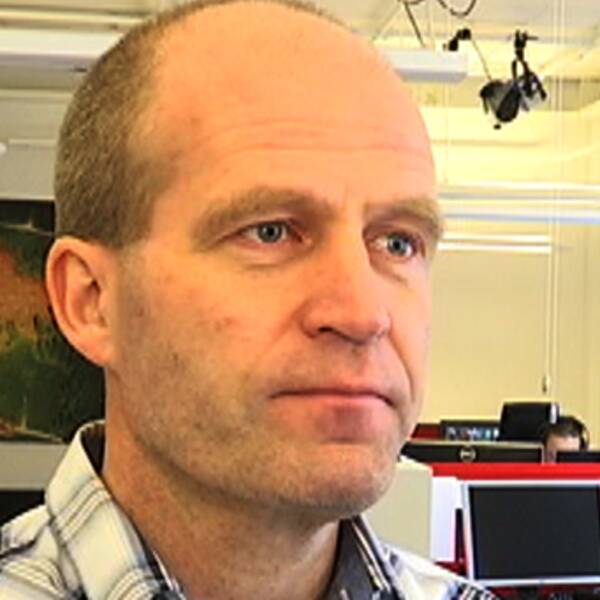 Daniel Rundqvist, redaktionschef för SVT Nyheter Jönköping.