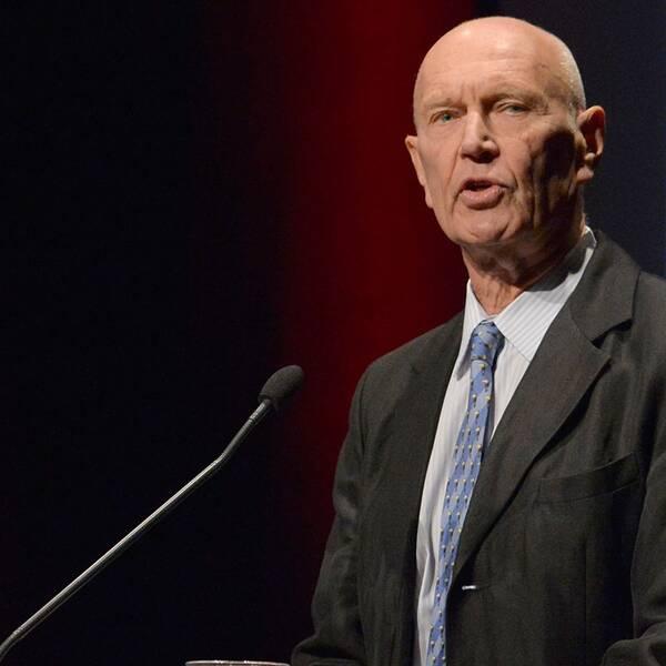 Pierre Schori, tidigare socialdemokratisk kabinettssekreterare och biträdande utrikesminister.
