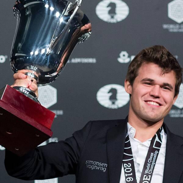 Magnus Carlsen försvarade VM-titeln.