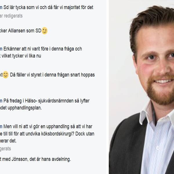 Carl Johan Sonesson (M).