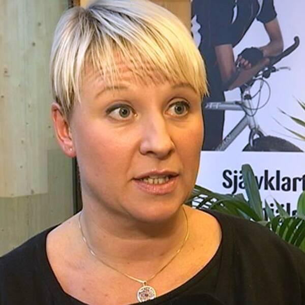 Anna Tenje, utbildningsnämndens ordförande i Växjö