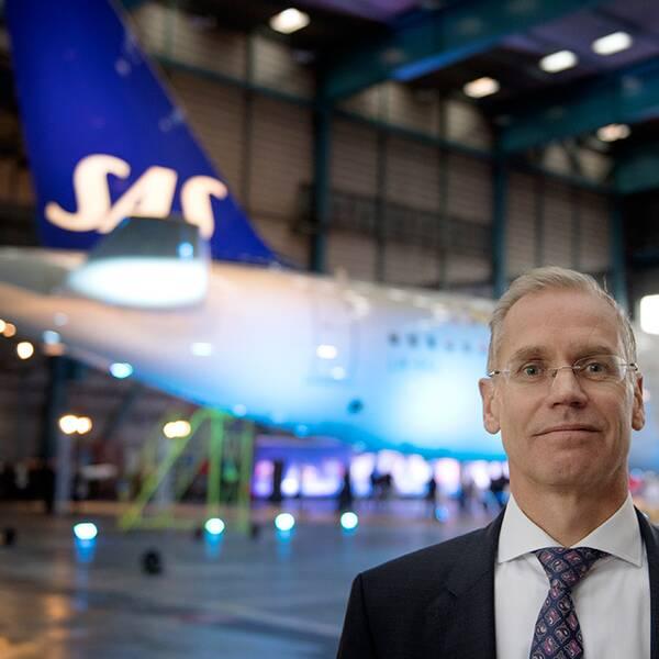SAS VD Rickard Gustafson.