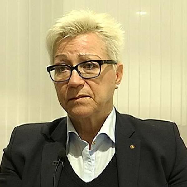 Annika Hull Laine, centrumchef för barn-, kvinno- och kirurgi Region Kronoberg.