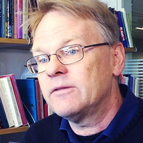 Jörgen Johansson, statsvetare intervjuas