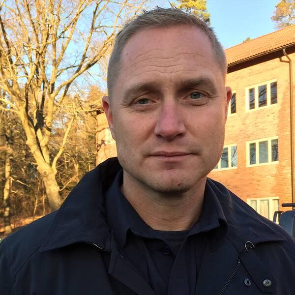 Niclas Andersson lokalpolisområdeschef Järva