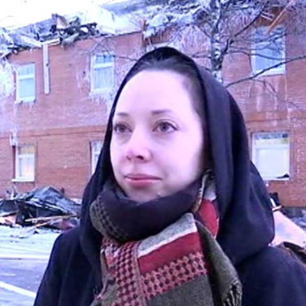 Katarina Tellström, Vattenfallanställd, brand, Umeå