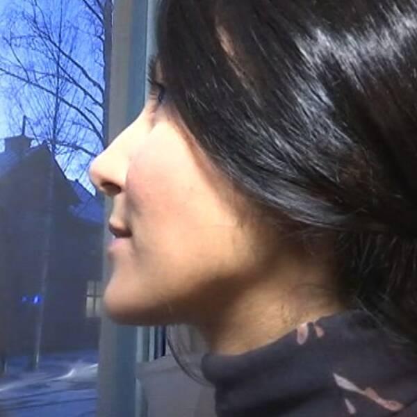 Soma Ghasimi, granne, brand, Umeå, fönster