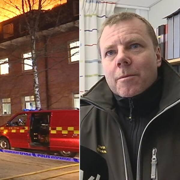 Storbranden i Umeå, Christer Björkman