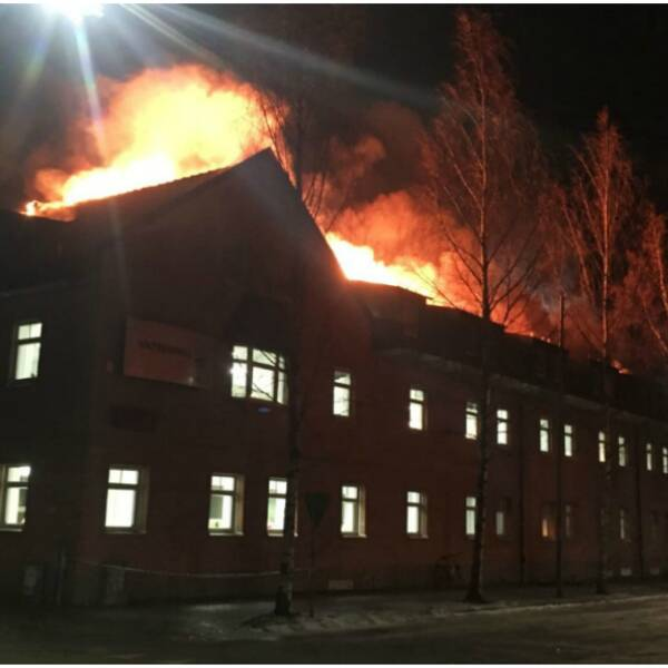 Malin Axroth, Vattenfall, brand