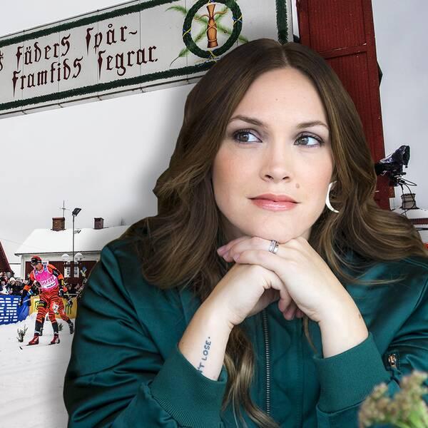 Brita Zackari är SVT:s nya åkande reporter i Vasaloppet.
