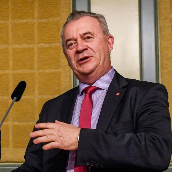 landsbygdsminister Sven-Erik Bucht