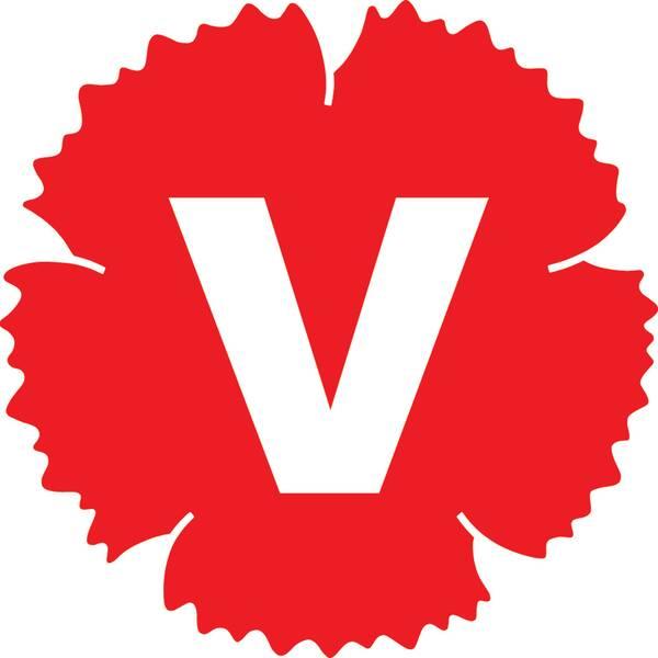 Logotyp vänsterpartiet