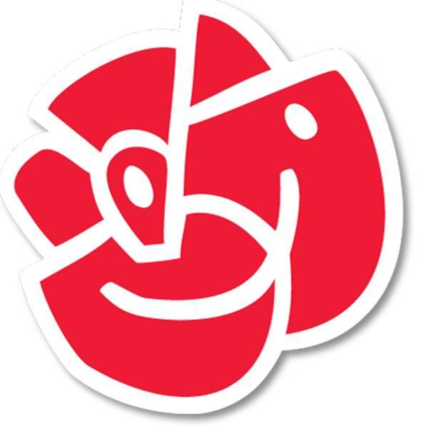 Socialdemokraternas logotyp