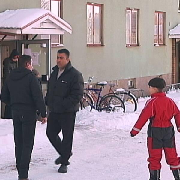 boende på asylboende