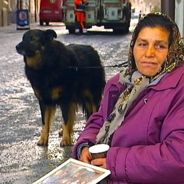 Sedan lägret i Sundsvalls hamn revs, har livet för Irina Bjuor blivit svårare.