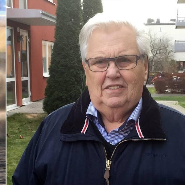Dan-Åke Moberg och speedwayförare