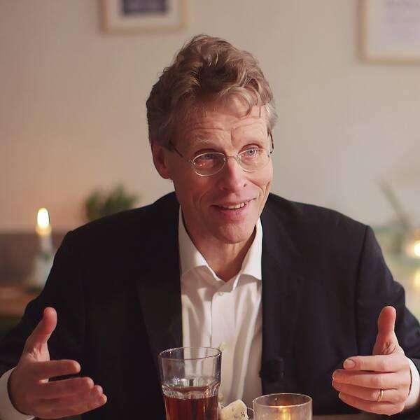 Historikern Bo Lidegaard menar att danskt hygge blivit som ett slags slogan för omvärlden.
