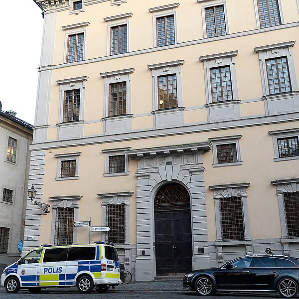 Statens fastighetsverks kontor i Gamla stan i Stockholm.