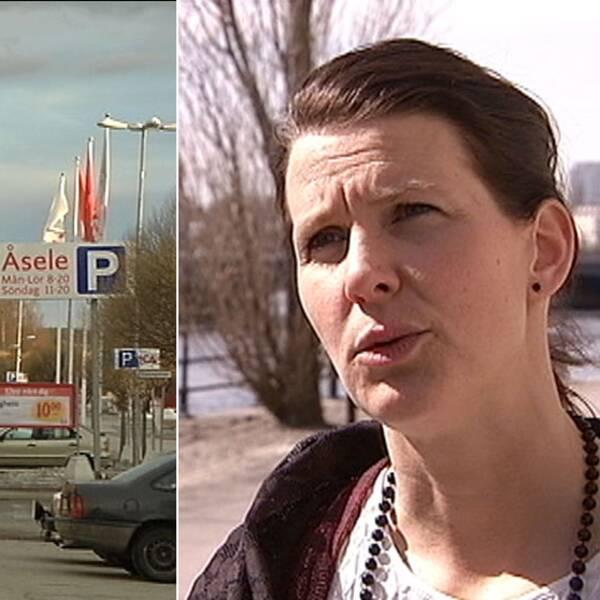 Nina Larsson partisekreterare hos Folkpartiet.