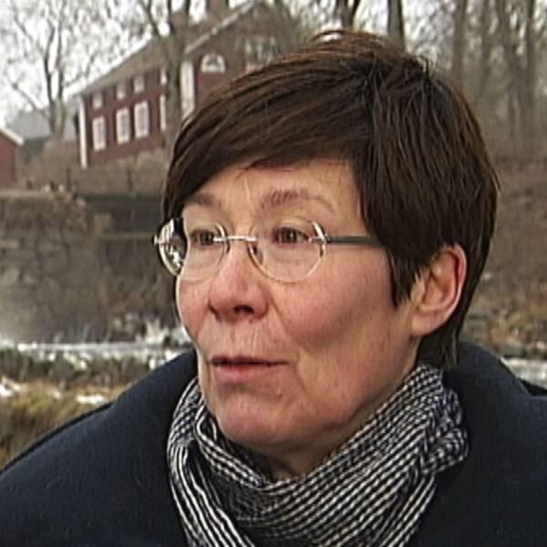 Birgitta Johansen, länsantikvarie och chef för länsmuseét.