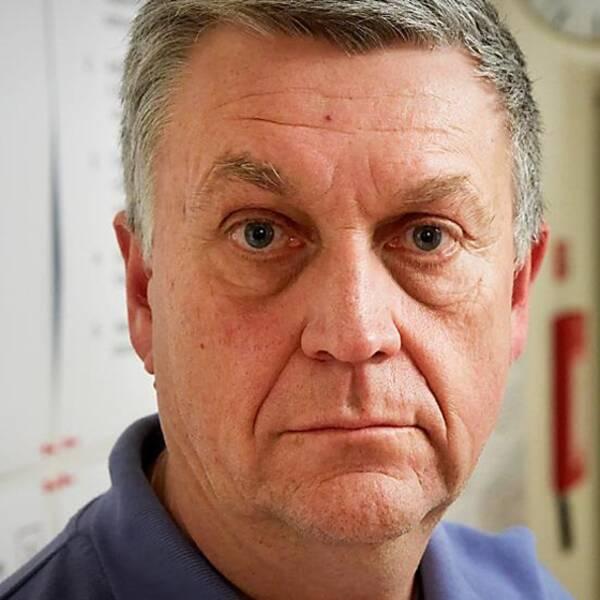 Arne Runehagen, smittskyddsläkare på Region Kronoberg.