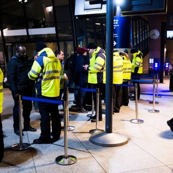 ID-kontroller på Köpenhamns flygplats Kastrup