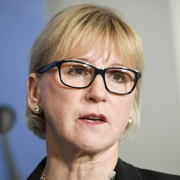 Utrikesminister Margot Wallström (S) befinner sig i Moskva för att träffa sin ryske kollega.