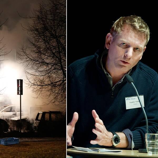 Fredrik Gårdare, kriminalkommissarie.