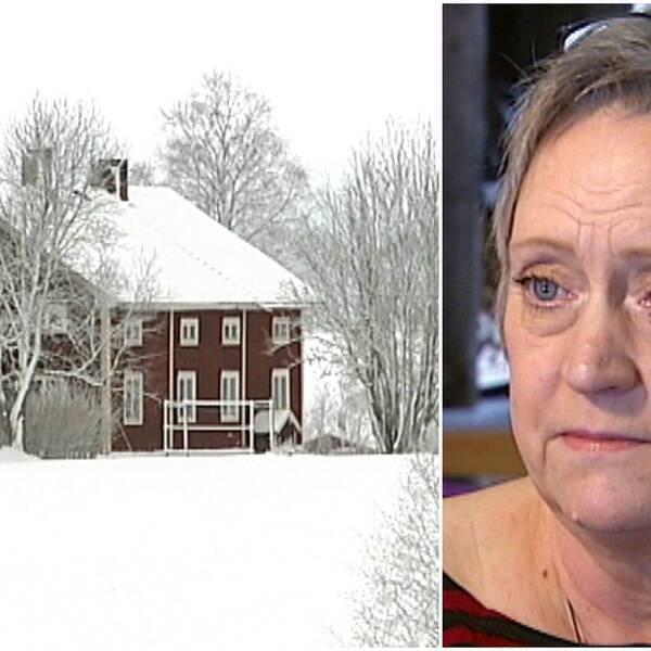I Gåxsjö är efterfrågan på bostäder stor berättar Kerstin Johansson