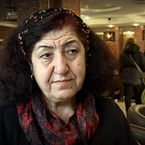 Zeliha Dagli, före detta vänsterpartist.