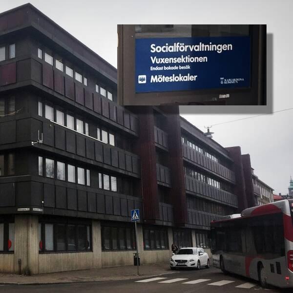 socialförvaltningen Karlskrona, socialen, socialtjänsten