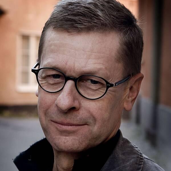 Föfattaren Klas Gustafson och skådespelaren Gösta Ekman.