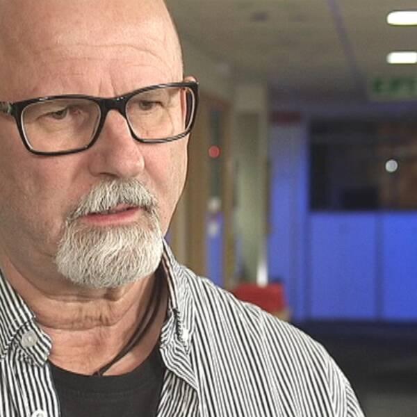 Peter Springare, utredare på Örebropolisen.