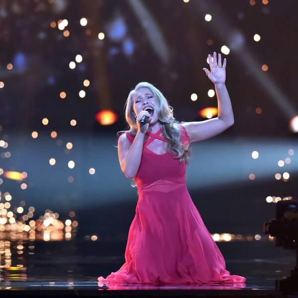 """Dansk-australiensiska Anja Nissen representerar Danmark med låten """"Where I am""""."""