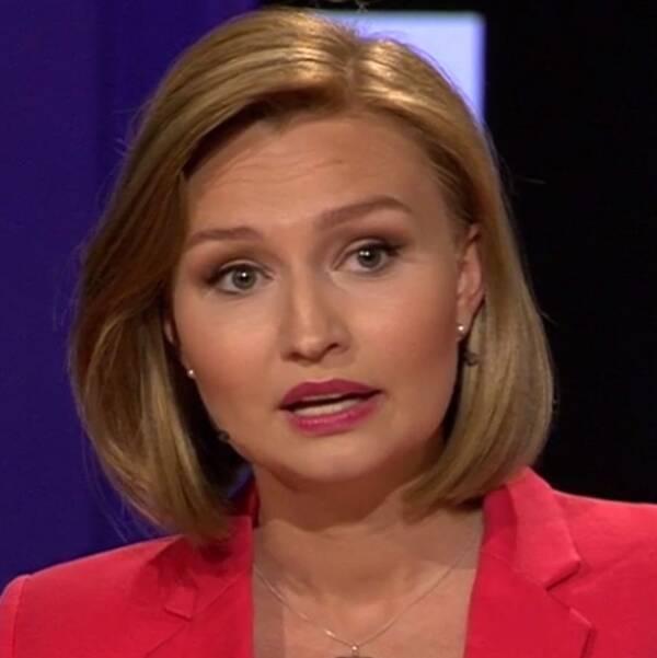 Ebba Busch Thor (KD) under partiledardebatten