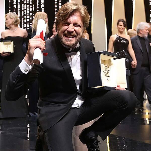 Ruben Östlund i Cannes 2017.