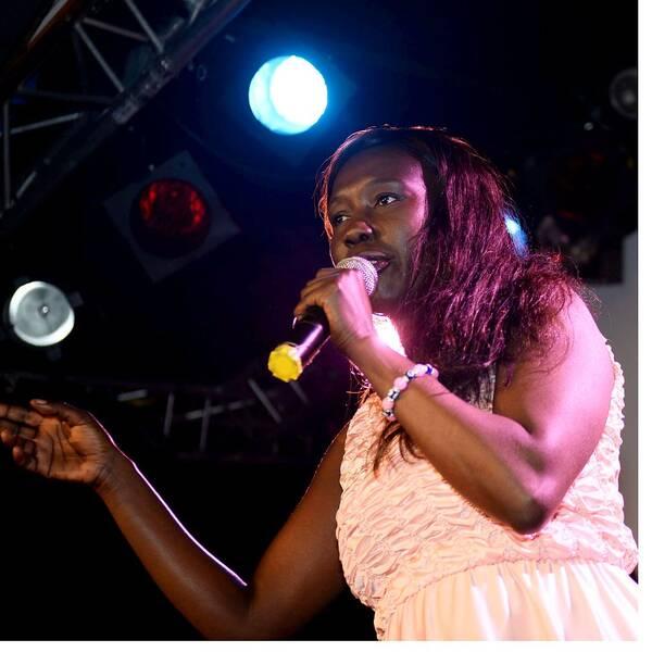 Victoria Kawesa, partiledare Feministiskt initiativ