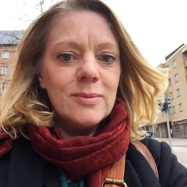 SVT Nyheter Östs reporter, Jenny Widell
